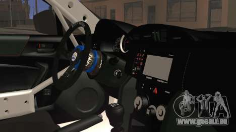 Toyota GT86 Speedhunters pour GTA San Andreas vue de droite