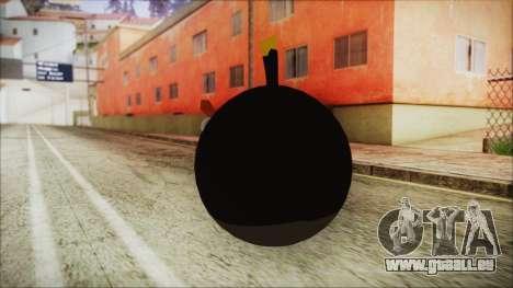 Angry Bird Grenade für GTA San Andreas zweiten Screenshot