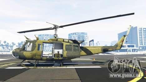 Bell UH-1D Huey Bundeswehr pour GTA 5