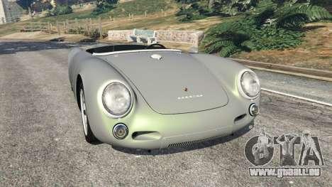 Porsche 550A Spyder 1956 für GTA 5