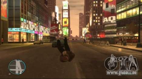 Ragdoll Mod pour GTA 4 secondes d'écran