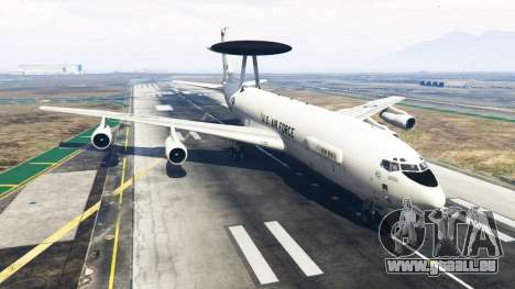 GTA 5 Boeing E-3 Sentry
