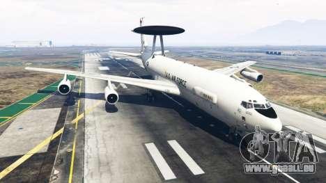 Boeing E-3 Sentry pour GTA 5