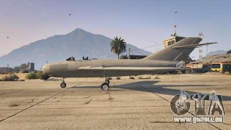 GTA 5 Le MiG-15 deuxième capture d'écran