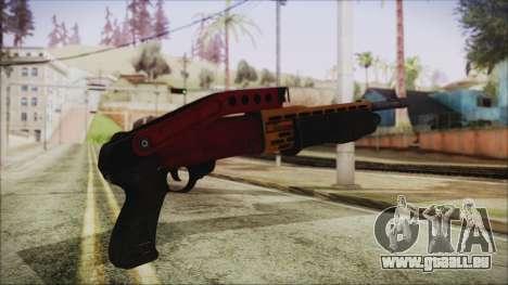 Xmas SPAS-12 für GTA San Andreas zweiten Screenshot
