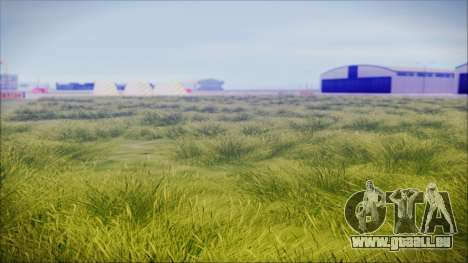 Super Realistic Grass für GTA San Andreas zweiten Screenshot