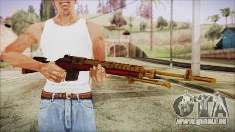 Xmas M14 pour GTA San Andreas troisième écran