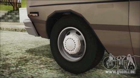 Dodge Dart 1975 pour GTA San Andreas sur la vue arrière gauche