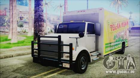 Indonesian Benson Truck Not In Real Life Version für GTA San Andreas