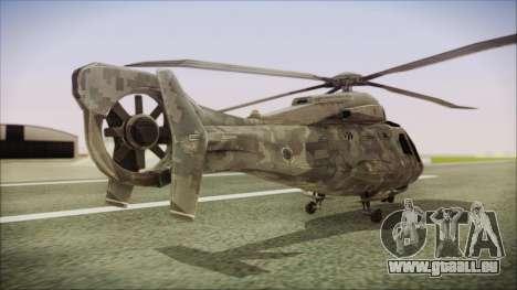 Tom Clancys Splinter Cell Blacklist Scout pour GTA San Andreas laissé vue