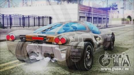 Ferrari P7 pour GTA San Andreas laissé vue