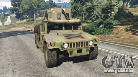 HMMWV M-1116 [woodland] pour GTA 5
