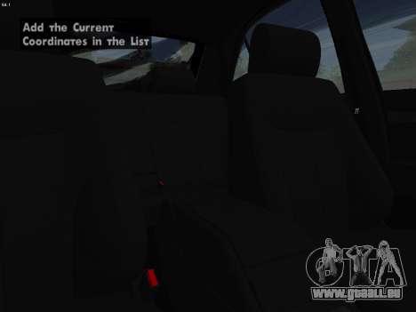 Mercedes-Benz E420 für GTA San Andreas Seitenansicht