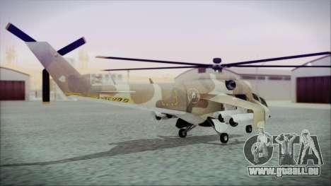 GTA 5 Savage für GTA San Andreas linke Ansicht