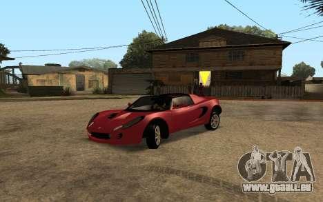 Lotus Elise 111s Tunable pour GTA San Andreas vue de côté