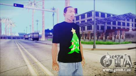 T-Shirt Christmas Tree für GTA San Andreas