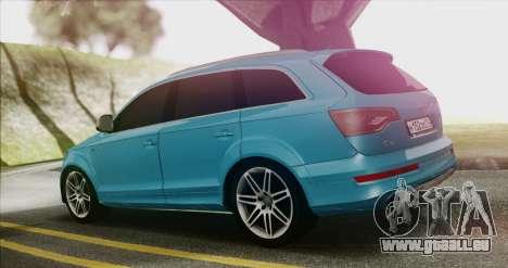 Audi Q7 für GTA San Andreas linke Ansicht