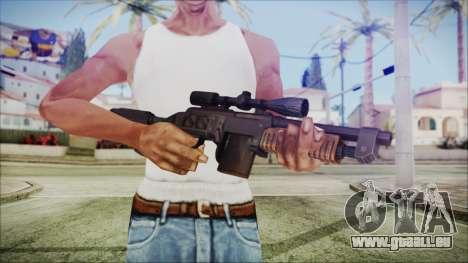 Fallout 4 Overseers Guardian für GTA San Andreas dritten Screenshot
