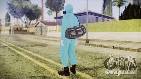 GTA 5 Online The Heist Gasmask Dark pour GTA San Andreas troisième écran