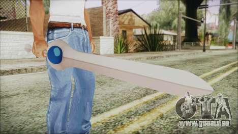 Finn Sword from Adventure Time pour GTA San Andreas