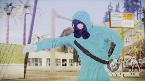 GTA 5 Online The Heist Gasmask Dark pour GTA San Andreas