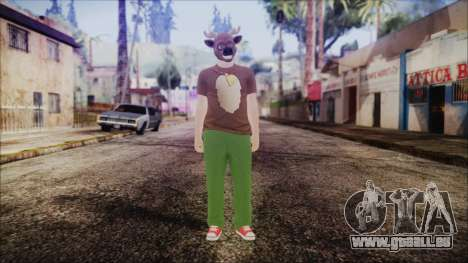 GTA Online Skin 11 pour GTA San Andreas deuxième écran