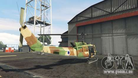 GTA 5 Bell UH-1D Israeli Air Force dritten Screenshot