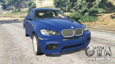 BMW X6 M (E71) v1.5 für GTA 5