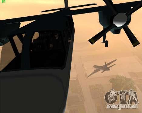 La folie dans l'état de San Andreas v1.0 pour GTA San Andreas deuxième écran