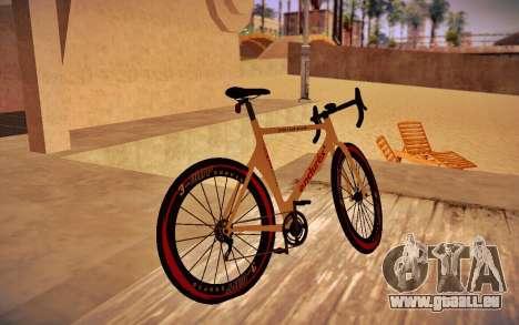 GTA V Endurex Race Bike für GTA San Andreas linke Ansicht