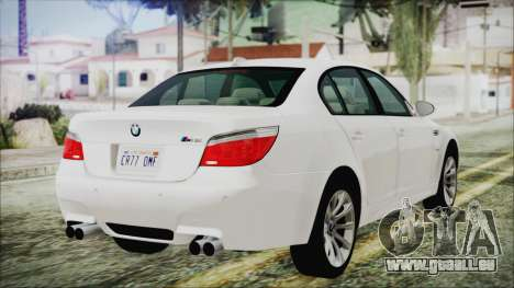 BMW M5 E60 2009 für GTA San Andreas linke Ansicht