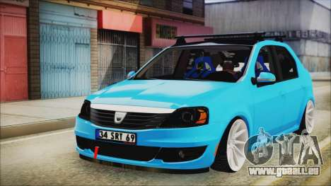 Dacia Logan Cadde Style pour GTA San Andreas