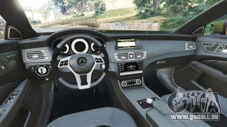 Mercedes-Benz CLS 63 AMG 2015 pour GTA 5