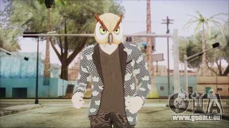 Skin GTA Online Hipster 2 für GTA San Andreas