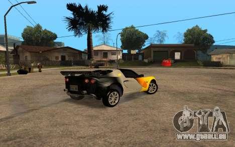 Lotus Elise 111s Tunable für GTA San Andreas linke Ansicht