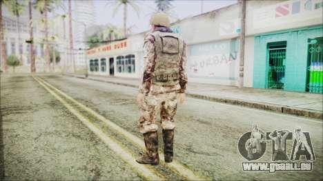 World In Conflict Generic Russian pour GTA San Andreas troisième écran