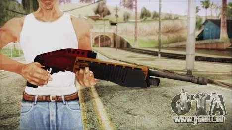 Xmas SPAS-12 für GTA San Andreas dritten Screenshot