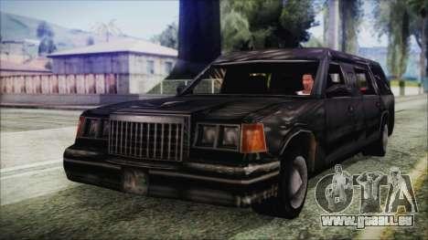 The Romeros Hearse pour GTA San Andreas