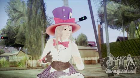 Dead Or Alive 5 LR Honoka Halloween 2015 pour GTA San Andreas