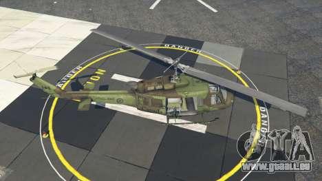 Bell UH-1D Huey Royal Canadian Air Force für GTA 5