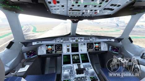 GTA 5 Airbus A380-800 fünfter Screenshot