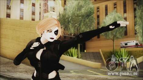 Blonde Domino from Deadpool pour GTA San Andreas