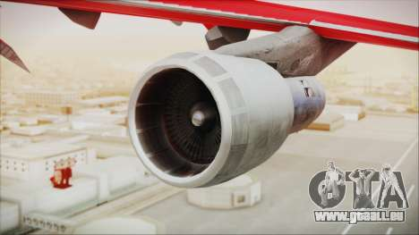 Boeing 747-100 Merry Christmas pour GTA San Andreas vue de droite