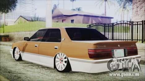 Toyota Crown VIP pour GTA San Andreas laissé vue