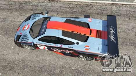 GTA 5 McLaren F1 GTR Longtail [Gulf] Rückansicht