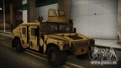 HMMWV Patriot pour GTA San Andreas