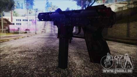 TEC-9 Search and Rescue pour GTA San Andreas deuxième écran