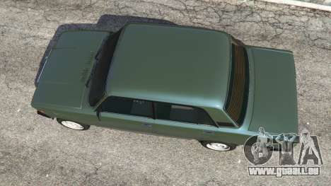 VAZ-2107 [Riva] v1.1 pour GTA 5