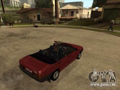 VAZ 21099 Convertible pour GTA San Andreas vue de droite