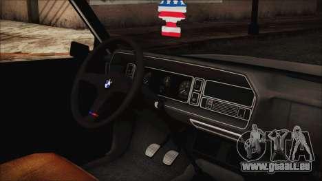 Tofas 131 Mirafiori Edition für GTA San Andreas rechten Ansicht